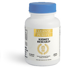 Kidney Rescue – cleanse and support