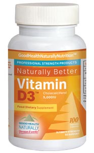 Vitamin D3 (5000IU) – Daily Dose Of Vitamin D With Coral Calcium