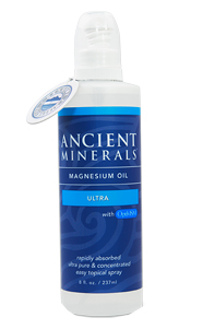 Ancient Minerals Magnesium Oil Ultra Spray – 8oz