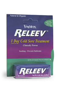Releev™ – Fast Topical Relief From The Symptoms Of Cold Sores & Fever Blisters