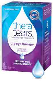 Thera Tears – Natural Relief – For Dry 'Gritty' Eyes