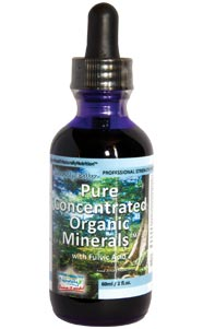 Pure Concentrated Organic Minerals™ Liquid with Fulvic Acid