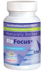 ReFocus Vinpocetine – Boost Your Brain Power!