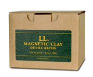 Magnetic Clay Baths – Radiation detox