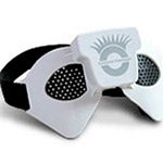 Relaxology Eyezone Massager (Pinhole Glasses) - Accupressure Technology - Aids Blood Flow To The Eyes