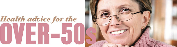 Health advice for the over 50s