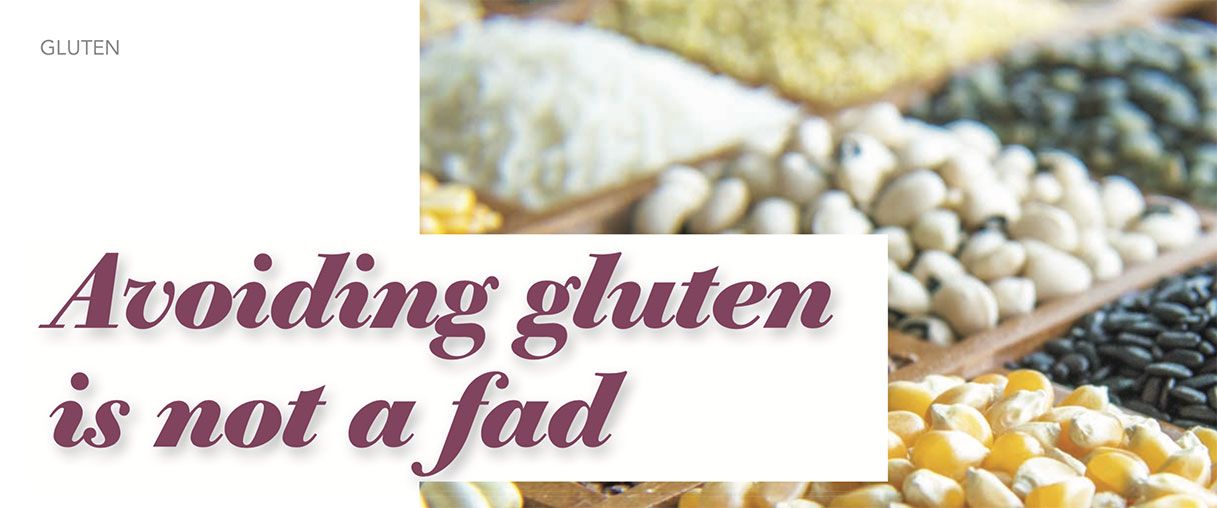 Avoiding gluten is not a fad