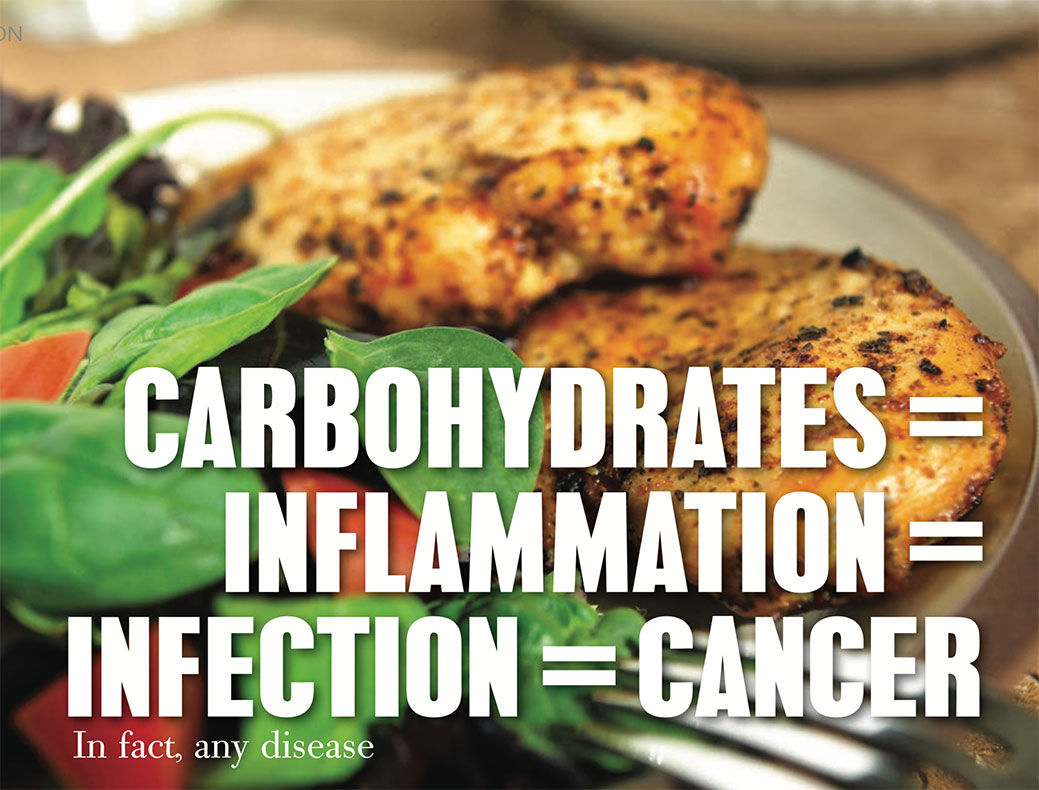 Carbohydrates-inflammation