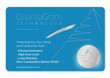 QuantoGram PCD (Pure Combustion Device)