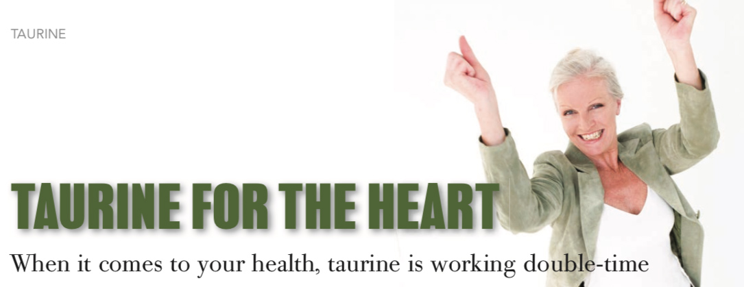 Taurine for the heart